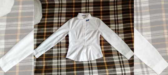 Рубашка(блузка) школьная для девочки р-122-128