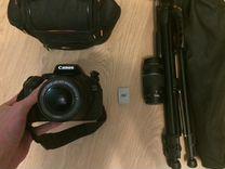 Canon 600 d E-fs 18-55