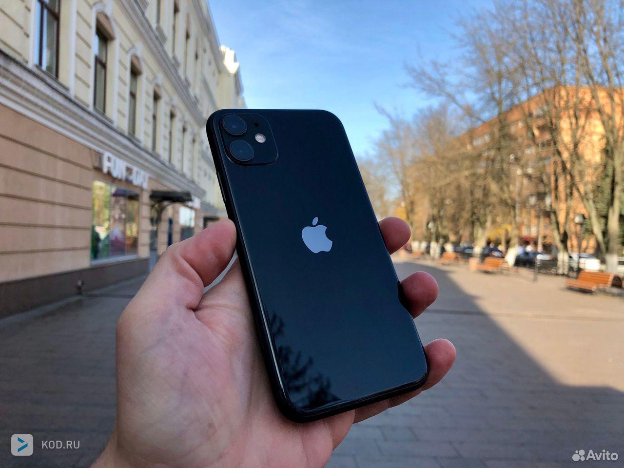 Продам iPhone 11-64 гб, черный