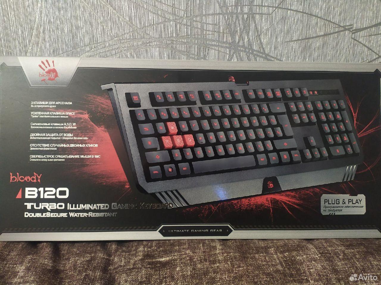 Клавиатура A4Tech Bloody B120  89780261567 купить 1