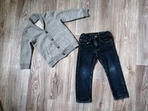Кофта и джинсы H&M