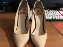 Туфли Fabi 35р, бежевые, лак натуральная кожа — Одежда, обувь, аксессуары в Москве