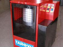 Экономная печь на отработанном масле тайфун тм15