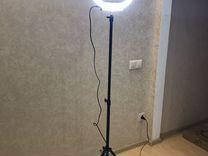 Кольцевая лампа Beauty Light 35 + зеркальце