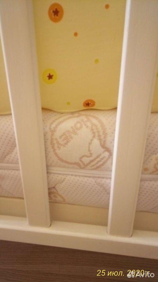 Детская кроватка два положения матрас ортопедическ  89243932969 купить 2