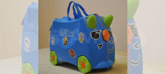 720302d50b1b Детский чемодан Trunki для путешествий и игры купить в Новосибирской  области на Avito — Объявления на сайте Авито