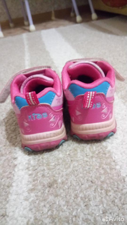 Кроссовки для девочки, р. 25  89213578617 купить 4