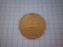 Канада 1 доллар,5 и 25 центов 1935-2017 гг