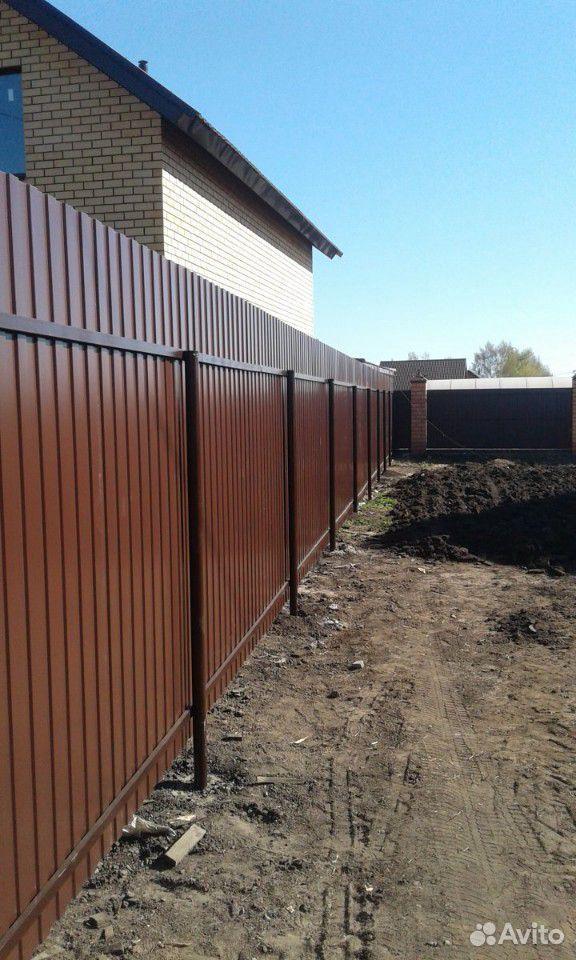Сделаем забор, ворота из профнастила  89088373003 купить 3