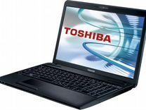 Toshiba c660 Celeron 2 ядра Память 2Gb Жесткий 320