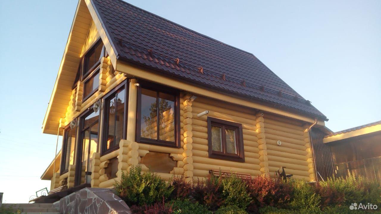 Дома из оцилиндрованного и рубленого бревна