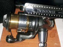 Катушка shimano twin power 1000FB