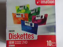 Дискеты 1.44 Mb коробка