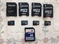 Карты памяти MicroSD и SD