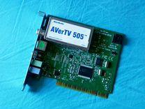 PCI-E тв тюнер avertv 505