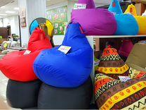 Бескаркасные кресла - Принимают форму тела