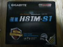 Материнская плата Gigabyte H81M-S1 lga 1150