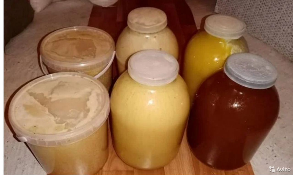 Гречишный мед с васильком