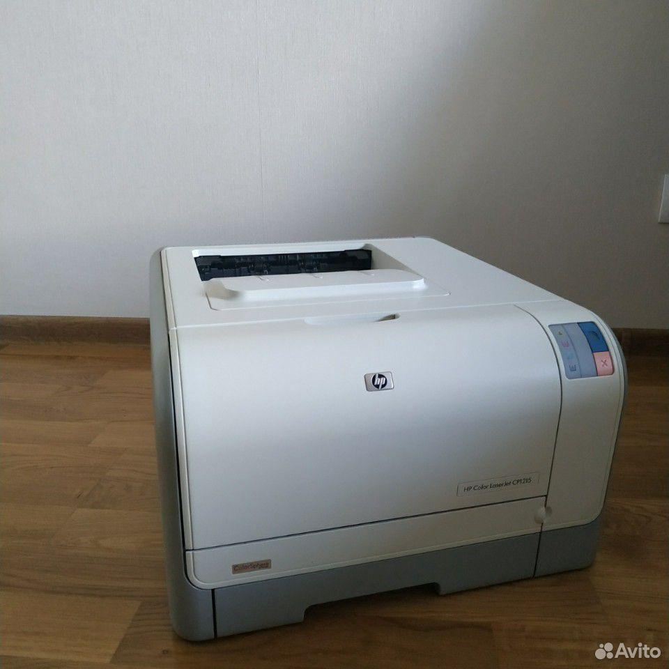 Принтер hp color laser jet cp1215