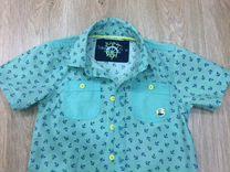 Рубашка с коротким руковом